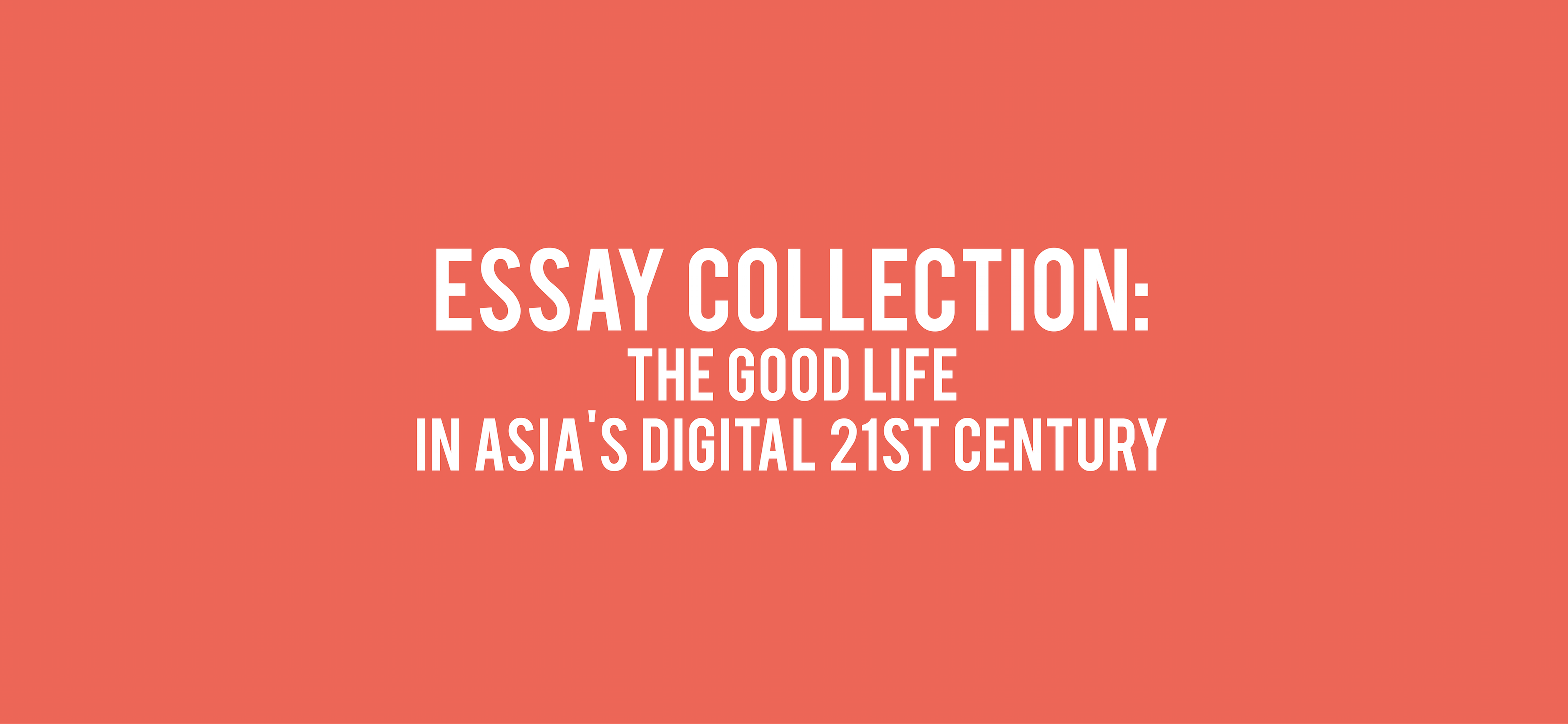 new essay collection digital asia hub new essay collection