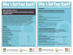 Who's Got Your Back? Securing Trust and Agency in a World of